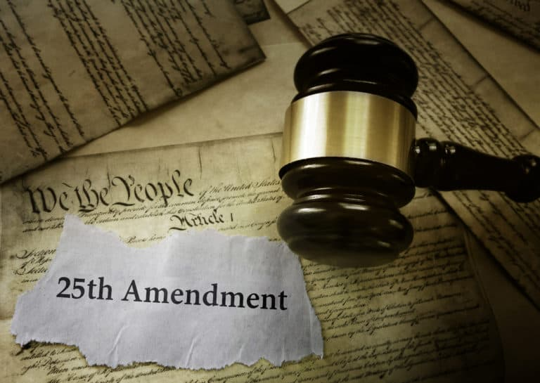 The 25th Amendment's Potential Impact on the US Government