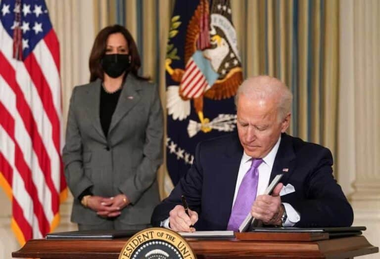 Listed: Executive Orders Signed by President Joe Biden